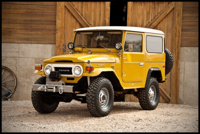 76 Land Cruiser FJ 40