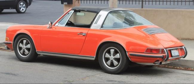 69 Porsche 911S Targa