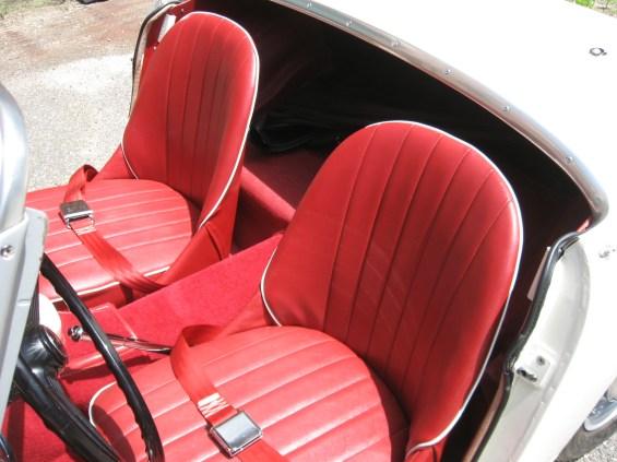 59 Austin-Healey Sprite seats