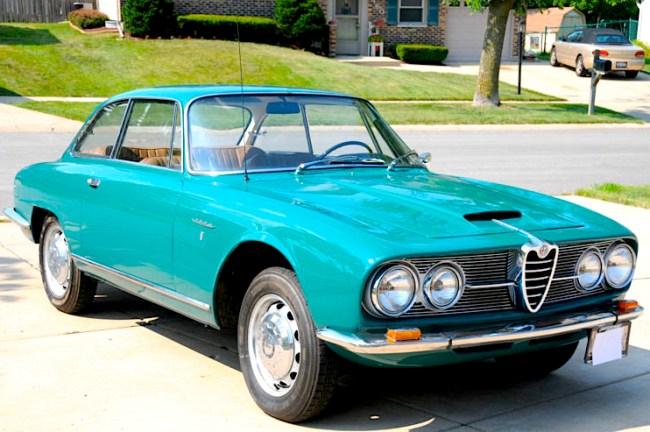 64 Alfa Romeo 2600 Sprint