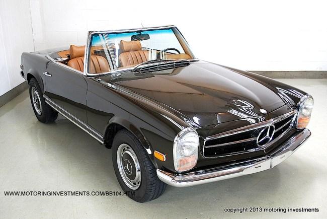 69 Mercedes Bnez 280SL