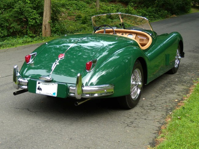 Jaguar XK140MC