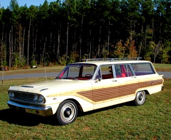 63 Ford Fairlane Wagon