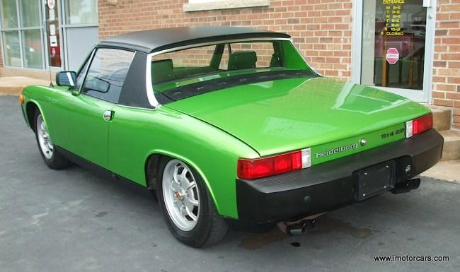 Viper Green: '76 Porsche 914 2.0 | Mint2Me