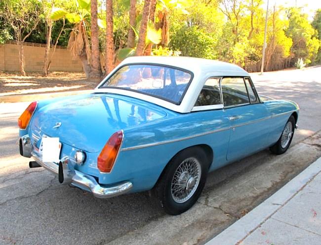 1963 MGB V8 Conversion  re