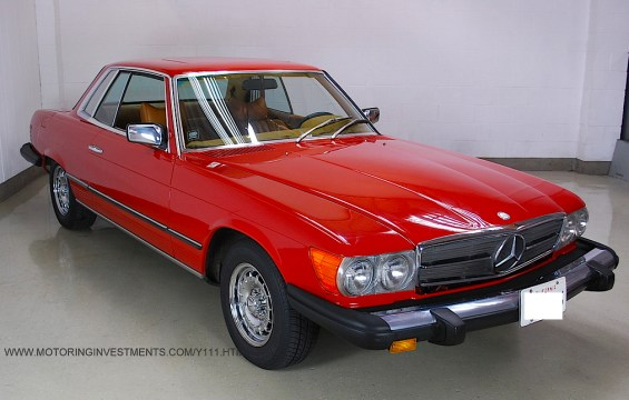 1976 Mercedes Benz 450SLC