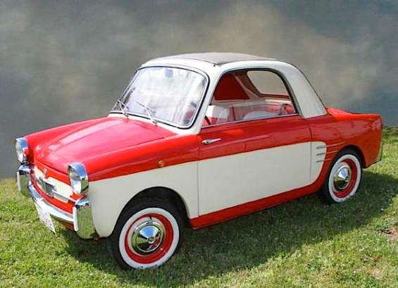 1960 Fiat 500 Bianchina Transformabile