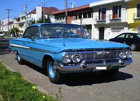 1961 Chevrolet 343 Bubble top fr