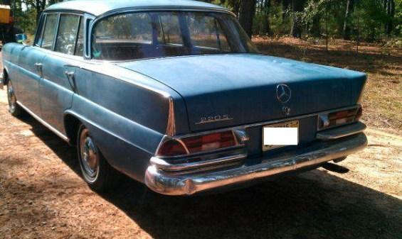 1963 Mercedes Benz Fintail re