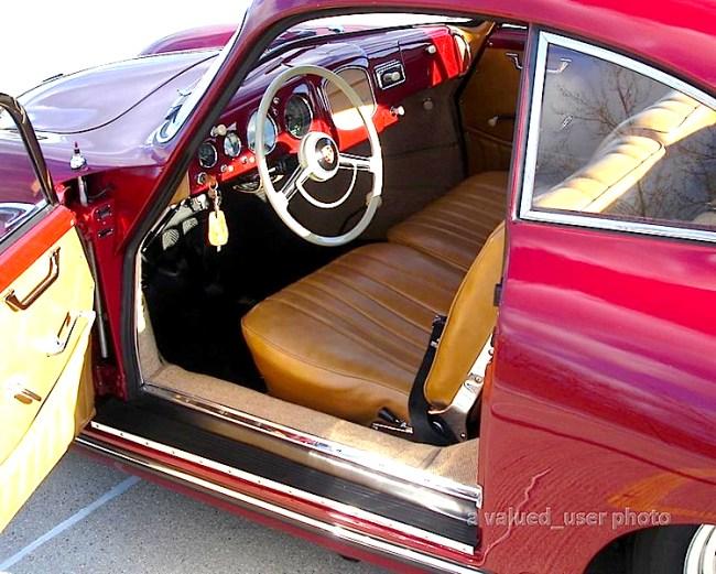 1955 Porsche 3456 int