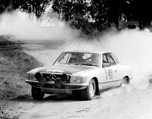 450SLC Rally Car