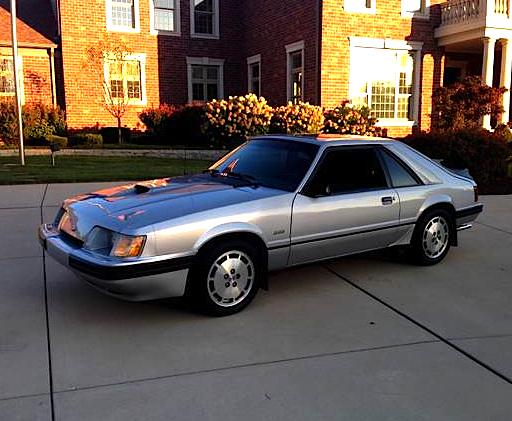 84 SVO Mustang