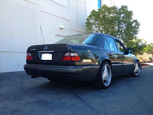94 Mercedes Benz E500 re