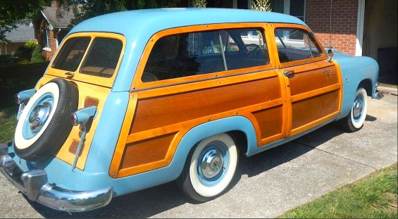 51 Ford Country Squire