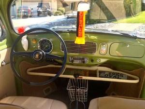 54 VW Bug dash