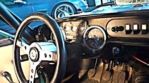71 Lancia Zagato Sport dash