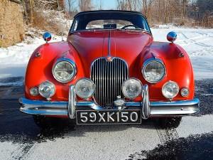 59 Jaguar XK150 Fr