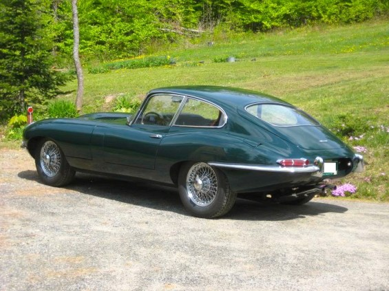 62 Jaguar rear