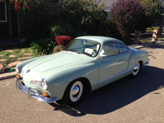 Pretty: '64 VW Karmann Ghia Coupe | Mint2Me
