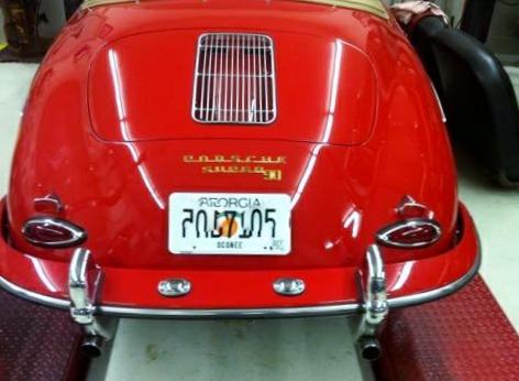 60 Porsche 356T5
