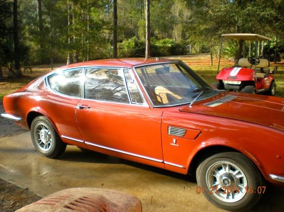 68 Fiat Dino fr side