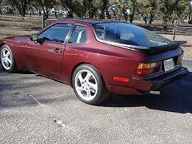 88 Porsche rear