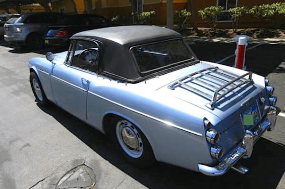 66 Datsun rear