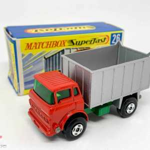 Matchbox Superfast No.26a GMC Tipper Truck