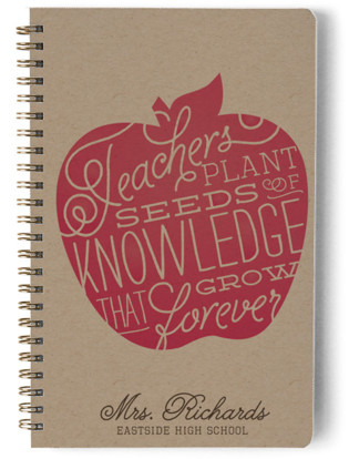 Planting Seeds Day Planner, Notebook, or Address Book
