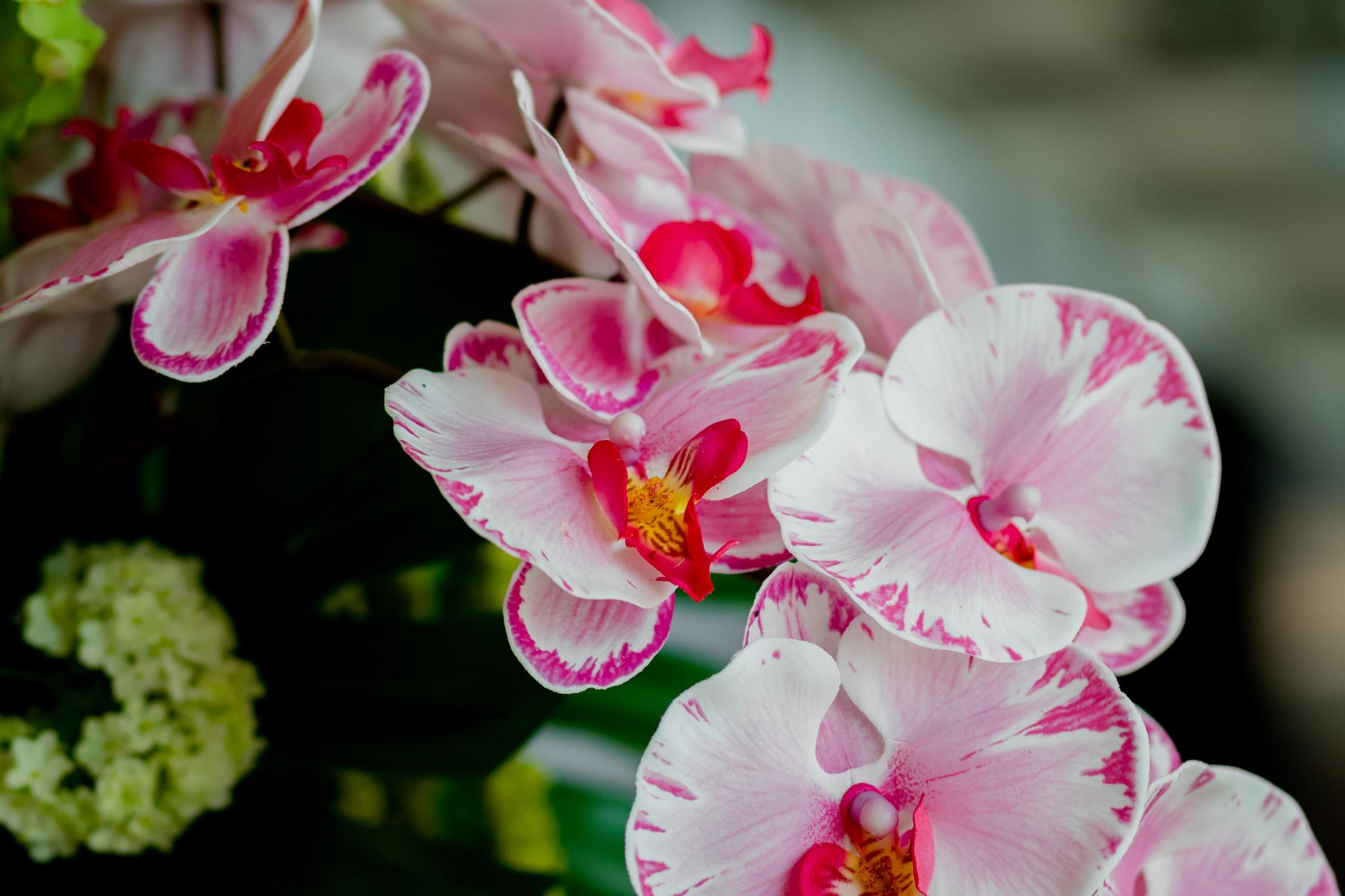 Mint & Mimosa zijden bloemen
