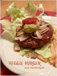 Veggie Burger: Vegetarian & Vegan Collection @MintGrapefruit