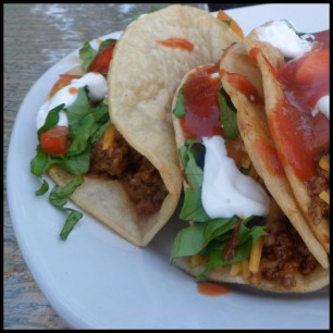 Tacos! Make ahead meals via MintGrapfruit.com
