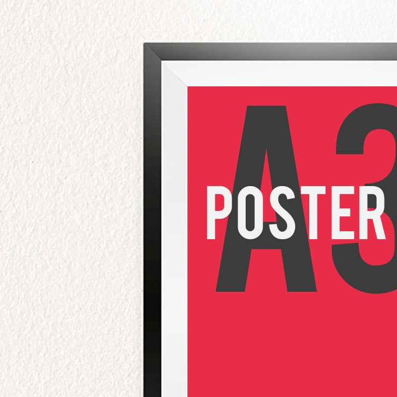 A3 poster