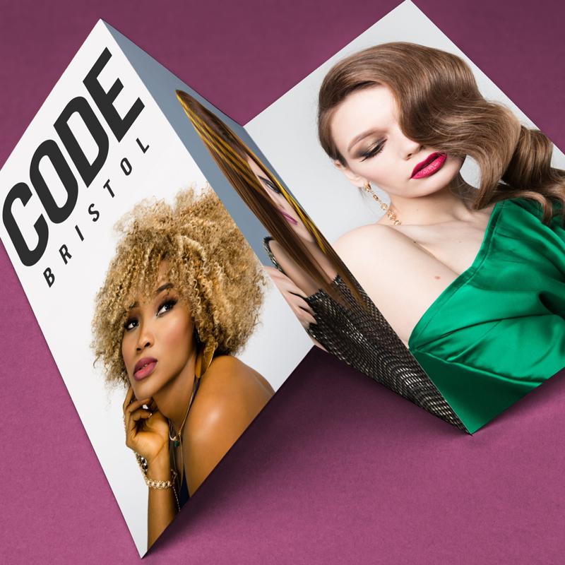 hair salon leaflet printing