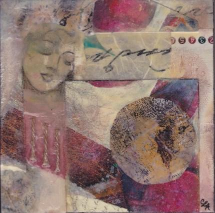 Peaceful Dreams - Mixed Media