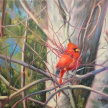 Red Radiance, oil