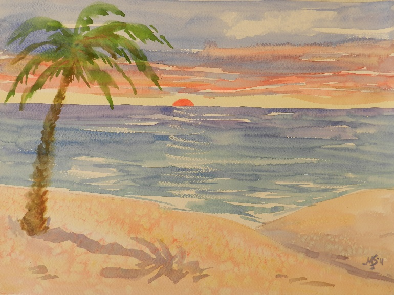 Marty Stewart Palm Tree