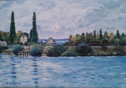 Copy of a Sisley Painting