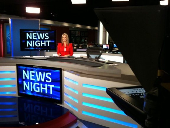 Last day on air as a News Reader for Sky News Australia
