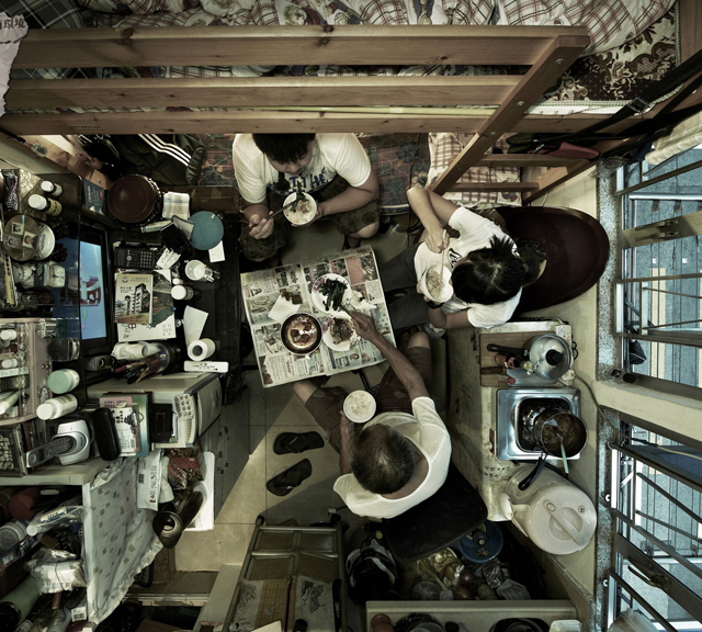 Shocking aerial photos of cramped Hong Kong apartments, Hong Kong - 22 Feb 2013