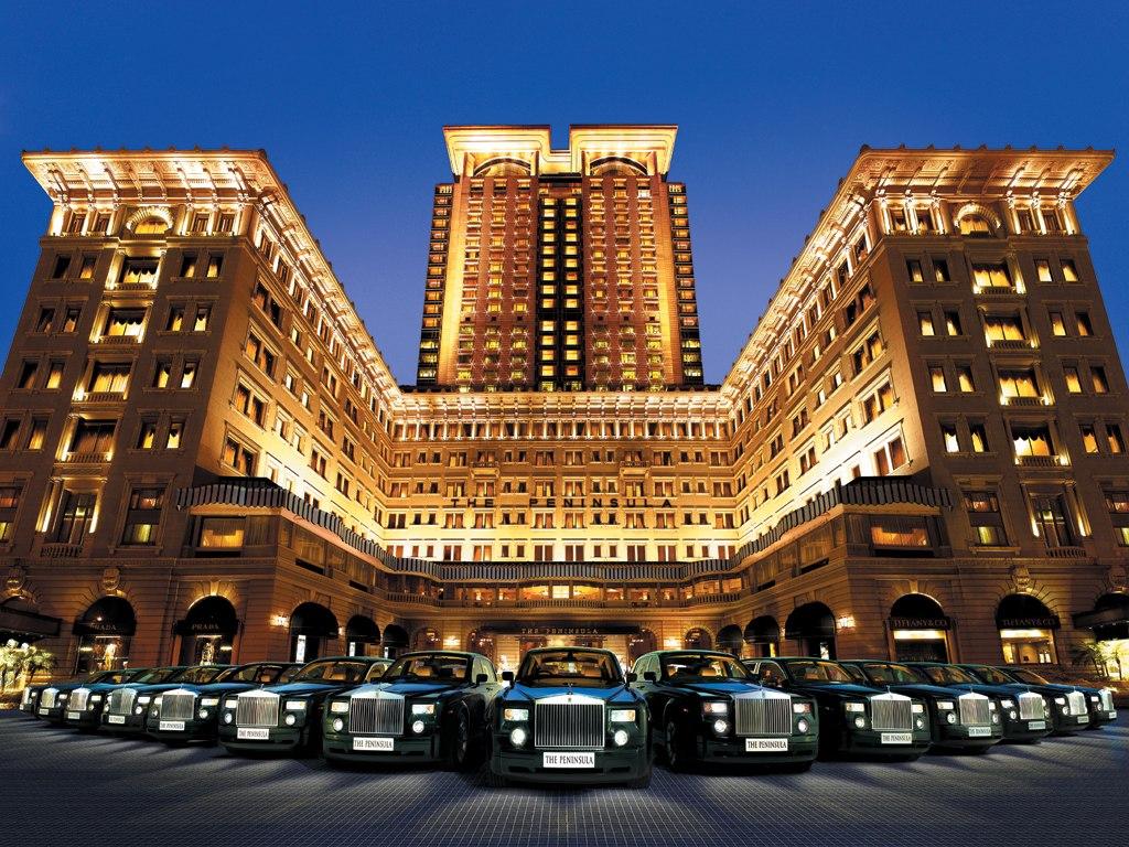 Hong Kong Peninsula Hotel Mint Mocha Musings