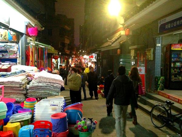 Shenzhen Shops Alleys Old Town