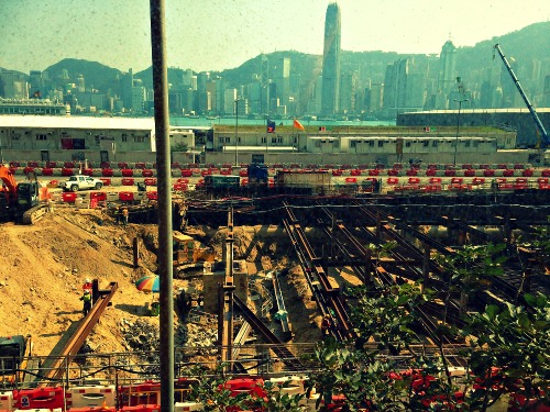Kowloon Construction | Mint Mocha Musings