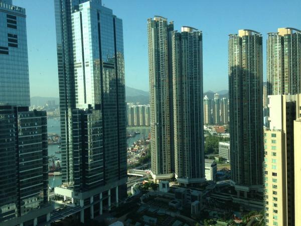Hong Kong highrises  Mint Mocha Musings