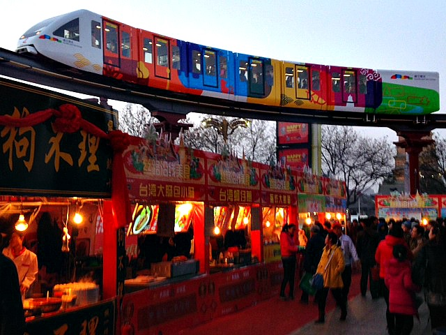 China: CNY festivities equals much fun to be had! #streetfood #stalls #celebrate #outsidethewestin