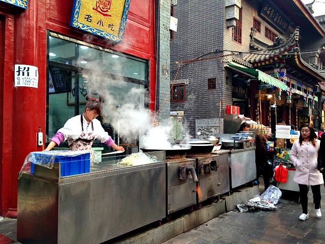Muslim Quarter Xian | Mint Mocha Musings