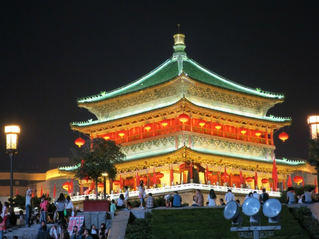 Drum Tower, Xi'an | Mint Mocha Musings