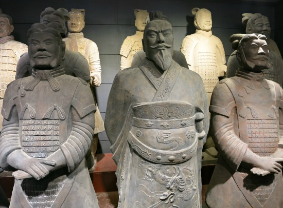 Faces of the Terracotta Army