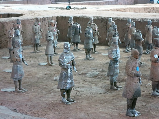 Reconstructing the Terracotta Army in Xi'an