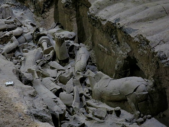 Excavation of the Terracotta Warriors
